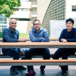 Clumio founders Kaustubh Patil (left), Poojan Kumar (centre), and Woon Jung (right).
